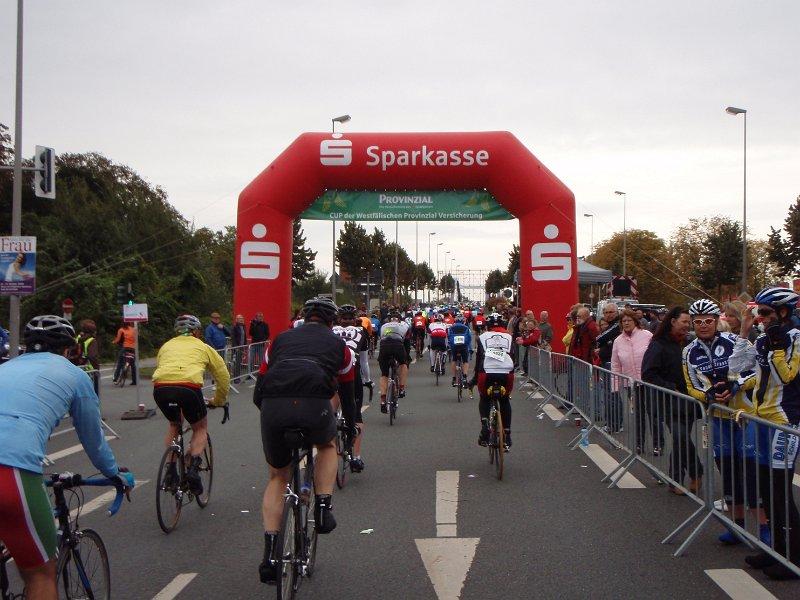 Start zum Jedermannrennen Münsterland Giro